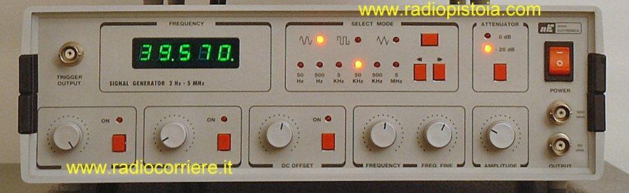 Generatore di segnali usato