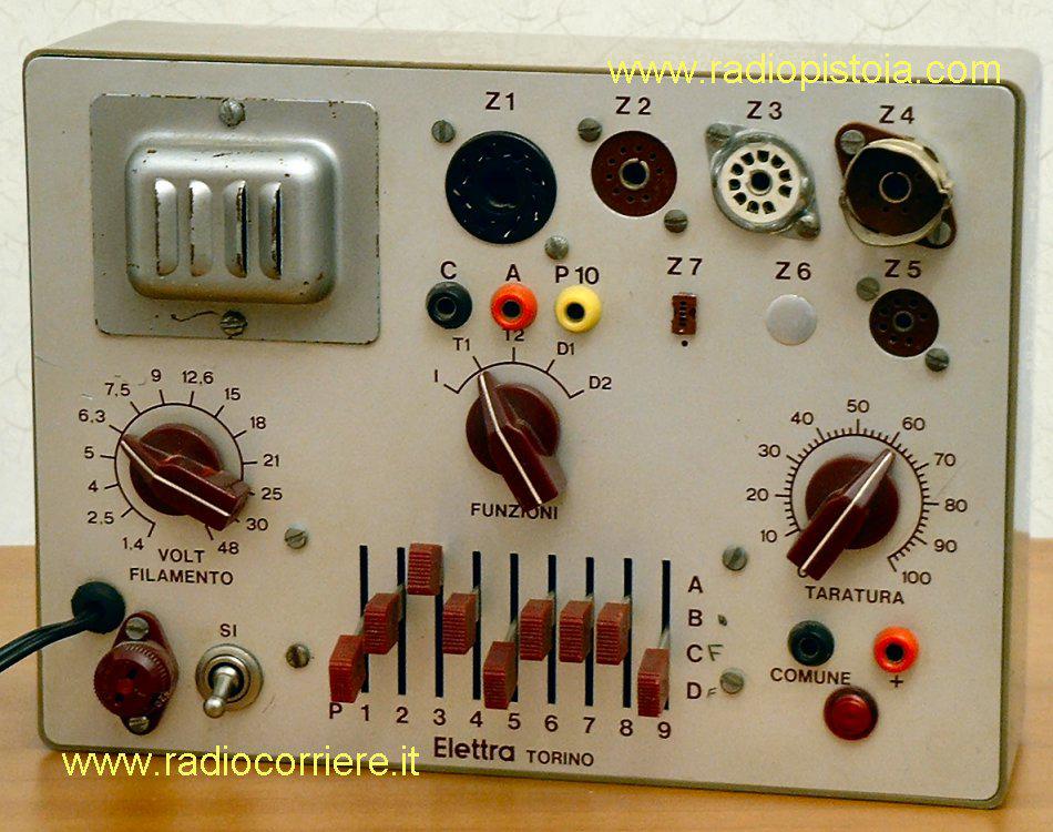 Schema Elettrico Per Scuola : Schema elettrico oscilloscopio scuola radio elettra